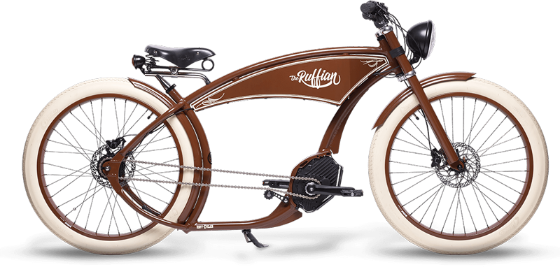 Ruffian Bike - Brown